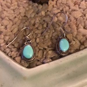Vintage 925 turquoise earring